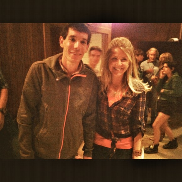 CatchCarri with Rock Climber Alex Honnold