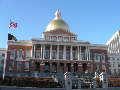 Built in 1798, the State House shows off a famous gold dome that is considered the center of Boston.