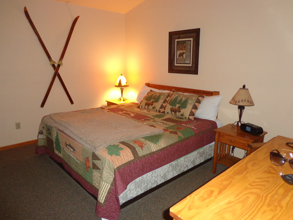 The Cedar Lodge at the McGregor Mountain Lodge Comfortably Sleeps Seven