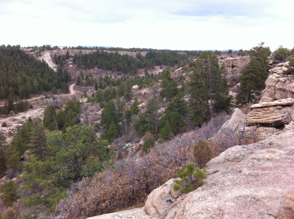 Your heart rate will slow down after the trek to the top of Rim Rock Trail, but then again, the view is so stunning that your pulse may keep racing.