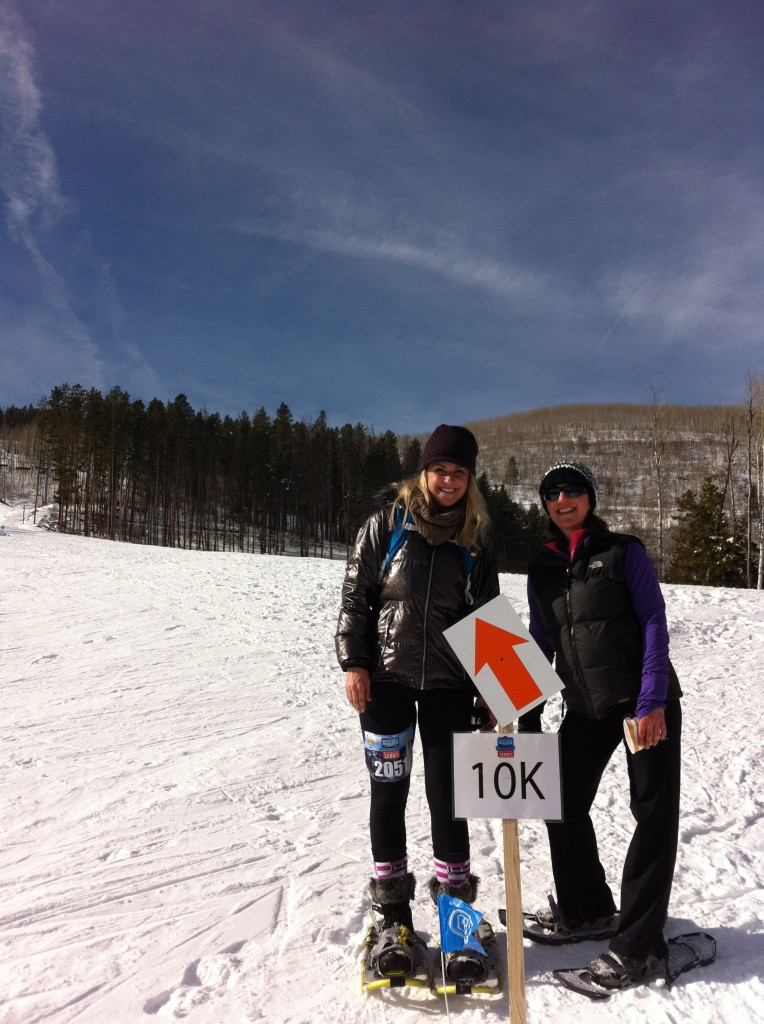 Carri WIlbanks and Amy Payne at Beaver Creek Mountain Running Series