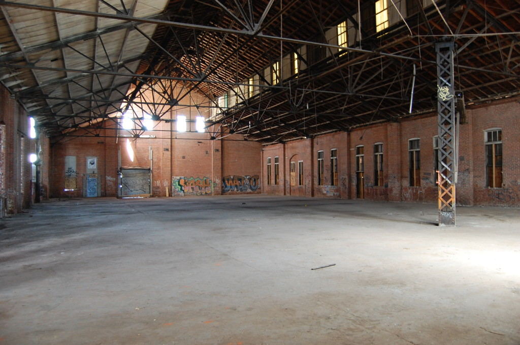 The 26,000 square foot warehouse will transfrom to a bustling artisan market opening in June.