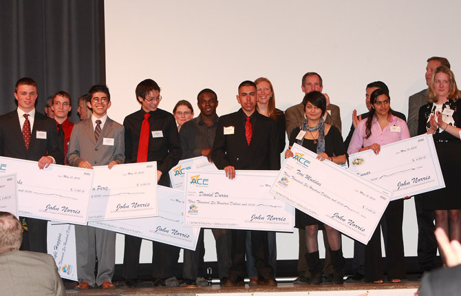 High School Students Awarded Scholarships By Ace Mentor Program