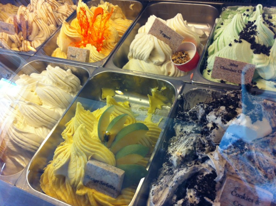 At Rimini you can find gelato, a secret blend hot cocoa, warm drink as well as soup and salad. 