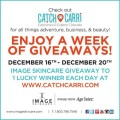 Image Skincare and Catch Carri giveaway