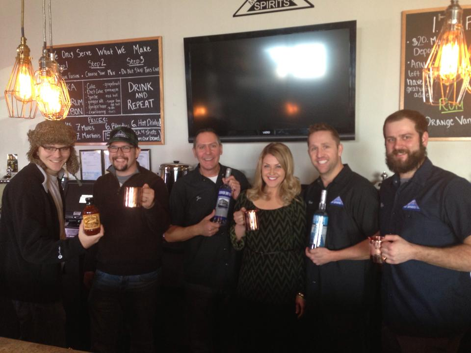 Catch Carri on USA Today Filming at Mile High Spirits