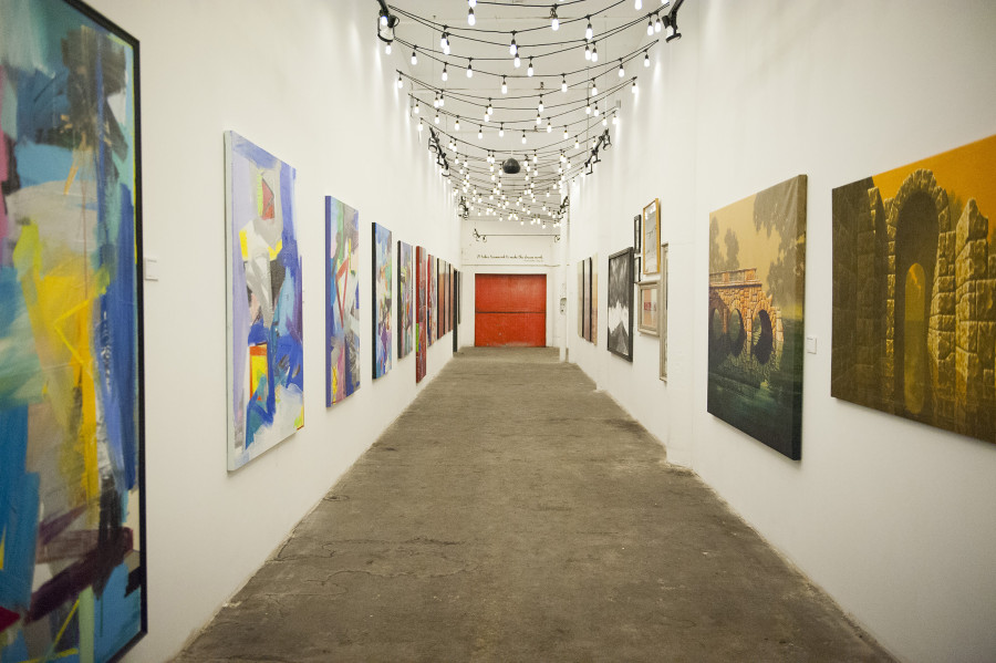 Red Space Art Gallery Cleveland Ohio