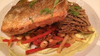 second home kitchen and bar Golden Tilefish