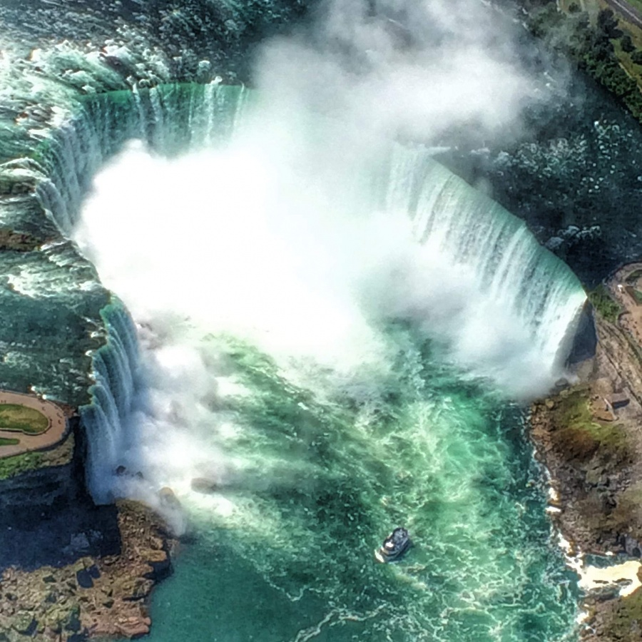 Niagara helicopter view