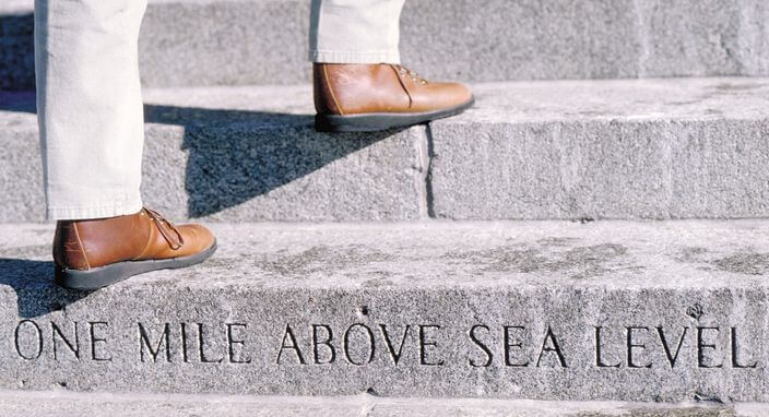 Capitol-Steps-One-Mile-Above-Sea-Level