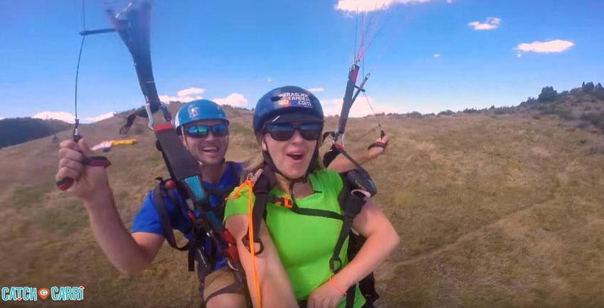 tandem paragliding in golden colorado