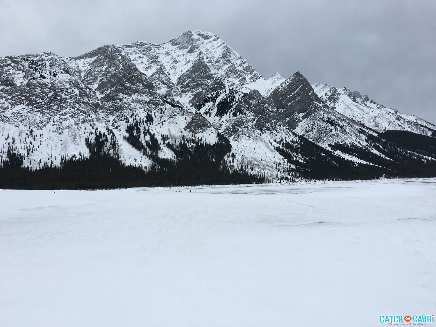 ice fishing in canmore