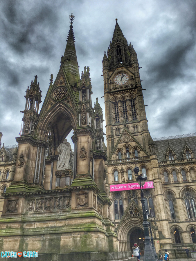 48 hours in Manchester England
