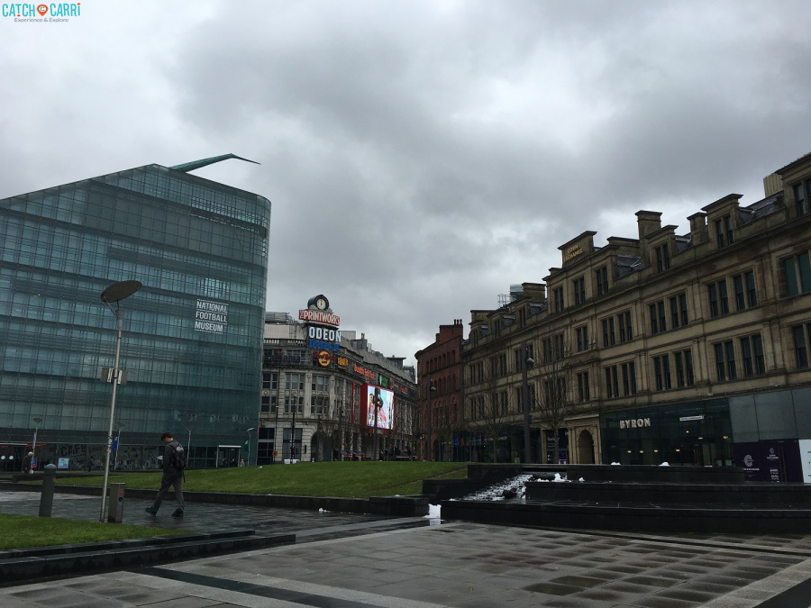 visiting Manchester England