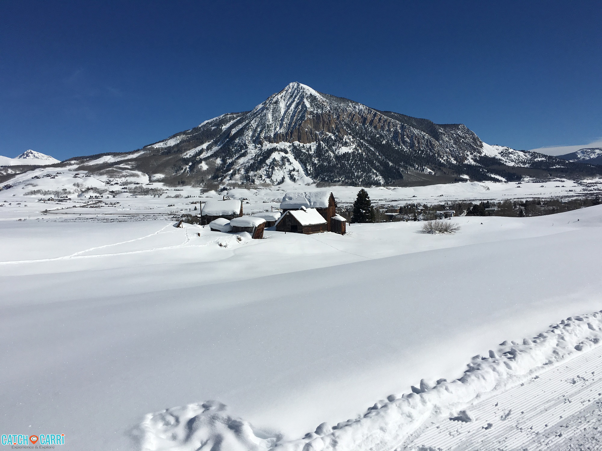winter in crested butte