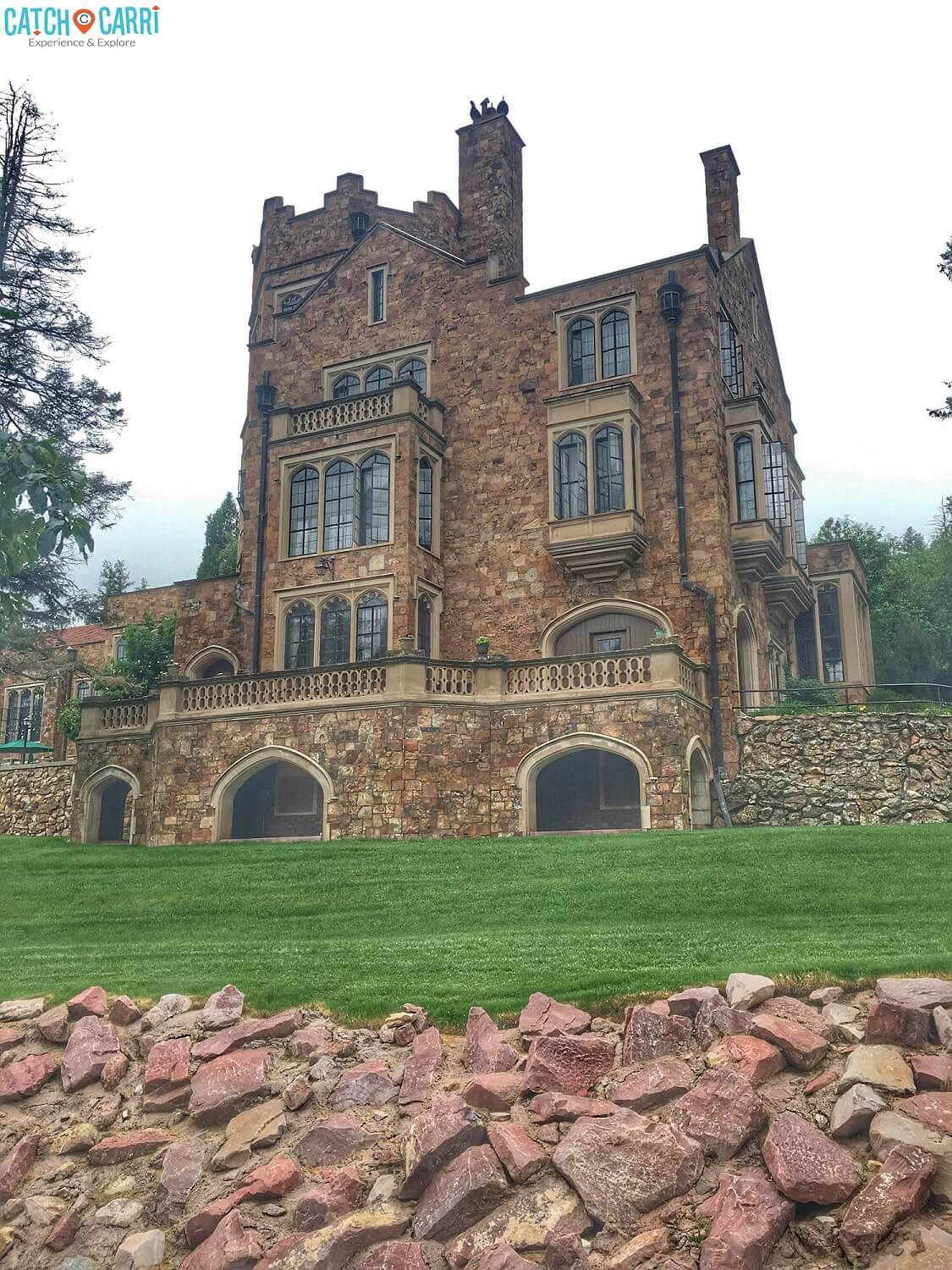 exploring the glen eyrie castle one of colorado 39 s most