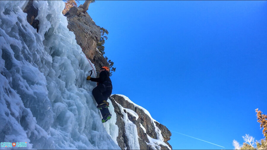 ice climbing ouray winter outdoors