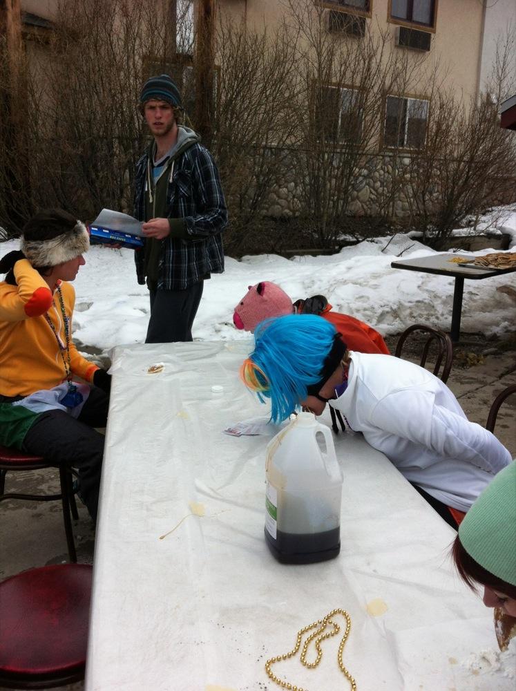 63813aceb9366 Winter Park Wipeout Pancake Eating Challenge