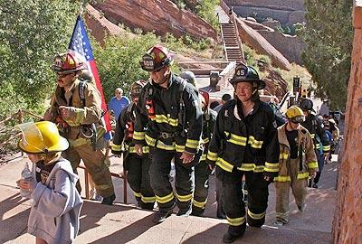 9 11 Stair Climb At Red Rocks