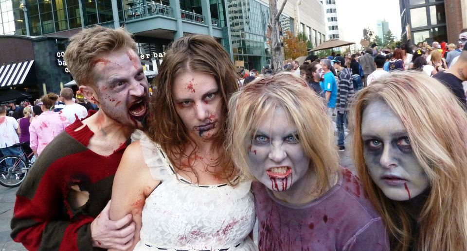 Zombie Halloween Party Decorations