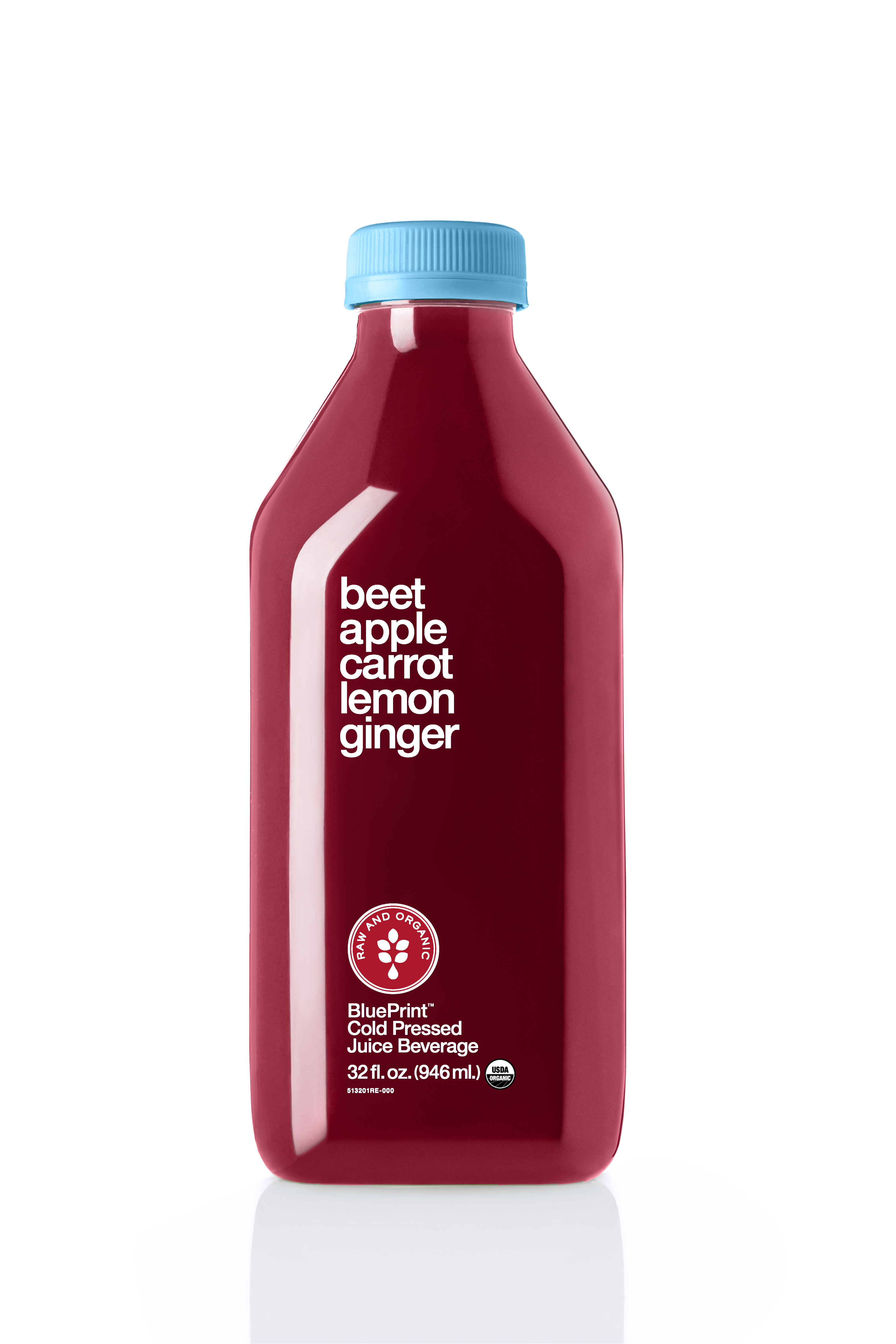 Blueprint multiserve juice goes big time with 32 ounce options blueprint beet apple malvernweather Images