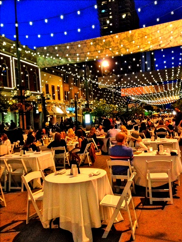 Dining Al Fresco On Larimer Square
